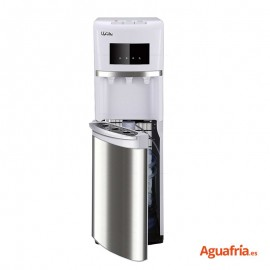 Dispensador de agua con botella Nahe Stal blanco.