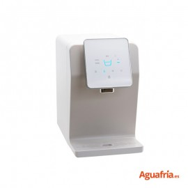 Dispensador de agua de sobremesa Beauly Luxury en color blanco.